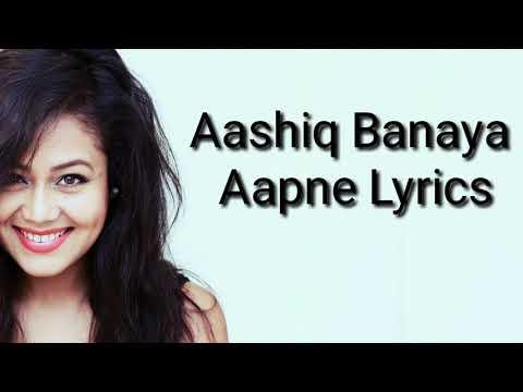 Aashiq Banaya Aapne - Himesh Reshammya, Neha kakkar - Hate story 4 (Lyrics)