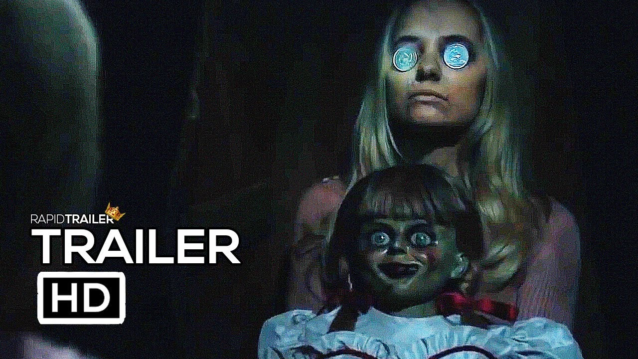 ANNABELLE COMES HOME Official Trailer (2019) Horror Movie ...