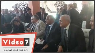 بالفيديو.. وزيرا الاتصالات والتنمية المحلية يصلان مركز شباب باب الشعرية
