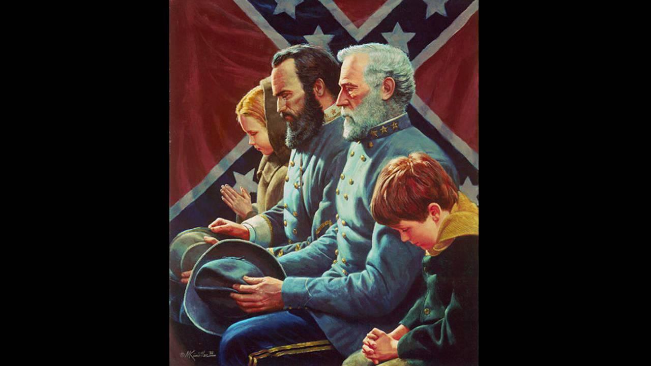 War art 35 robert e lee youtube for Lee s painting