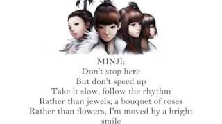 2ne1 - Let s go party [English Lyrics]