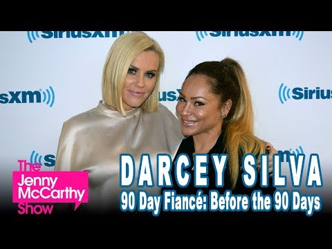 """Darcey Silva from """"90 Day Fiance: Before The 90 Days""""   on The Jenny McCarthy Show"""