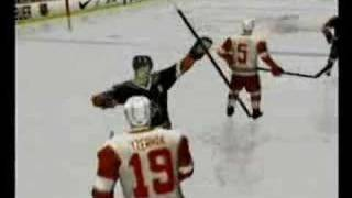 NHL Face Off 2003 Playstation 2 - Making Of bonus video