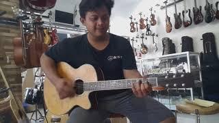 Jual Gitar Akustik elektrik original FREE5 Kirim ke BEKASI | #guitarvlog by #dennystunt