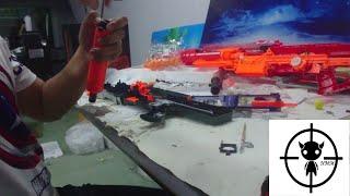 ซ่อมและโม Nerf Longshot CS-6: part 1