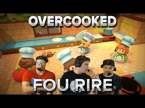 Overcooked #5 : FOU RIRE!!!!!!!!!