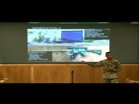US Army Cyber Command and Second Army Innovation Speaker Series: Chapman and  Waage