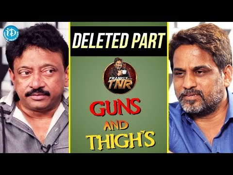Ram Gopal Varma Exclusive Interview Part #13 || Frankly With TNR || Talking Movies With iDream