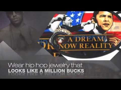 """Dr. Martin Luther King """"A Dream Now A Reality"""" Barack Obama Belt Buckle"""