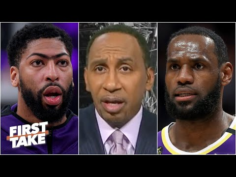 What's at stake for Anthony Davis without LeBron James? First Take debates