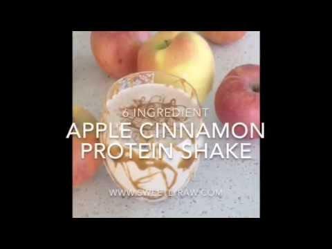 Caramel Apple Cinnamon Protein Shake
