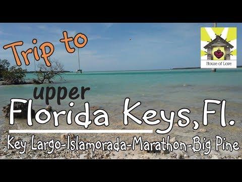 Explore the Florida Keys-Upper Keys-Marathon-Key Largo-Islamorada-Big Pine Key