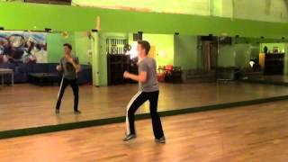 Michael Jackson Bad Dance Tutorial 3/3 (with music full speed)