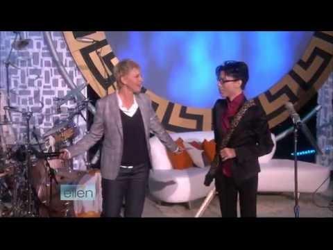 Prince Crimson & Clover  (Ellen DeGeneres Show in 2009)