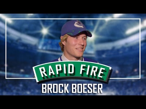 Canucks Rapid Fire with Brock Boeser