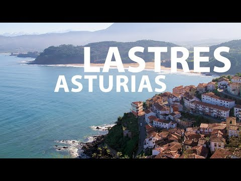 video about The sea village of Lastres