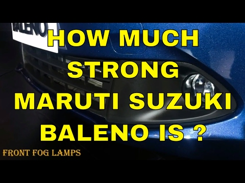 How Much Strong Maruti Suzuki Baleno Is ? Check Out The Safety Features