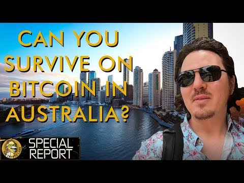 How To Travel Queensland Australia On Bitcoin - Vlog Part 1