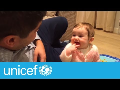 Super dads bring it for Father's Day I UNICEF