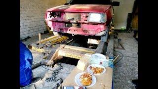 ЗАЗ-1102 «Таврия»  Ремонт кузова.  #заеду