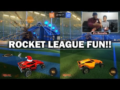 Rocket League With The Dad!! | Whilst TEKKERZ KID Is At School LOL!