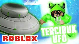 MY UFO in the HOUSE Itself 😂 ROBLOX INDONESiA