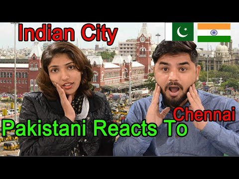 Pakistani Reacts To | Chennai (Madras) - Health Capital of India | Chennai Beach India