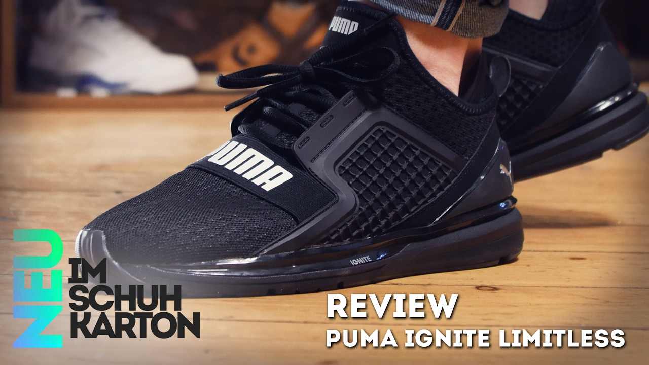 mejor Estados Unidos elegir oficial Puma Ignite Limitless | Review - YouTube
