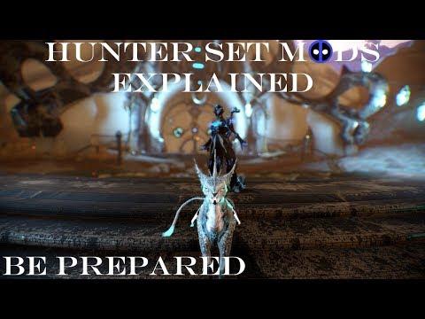 The Hunter Set Mods Explained - Warframe Prepared
