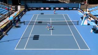 R16: Jordan Thompson vs Harry Bourchier - Australian Open 2015 Play-off Highlights