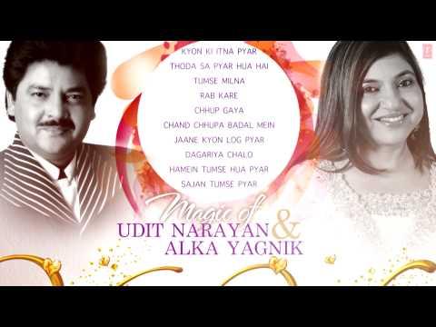 "Magic of ""Udit Narayan & Alka Yagnik"" Superhit Bollywood Songs | Non-Stop Hits | Jukebox"