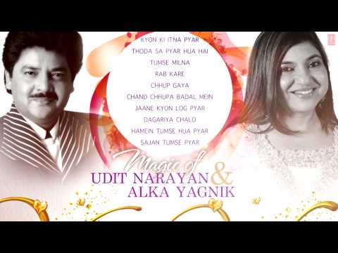 Magic of Udit Narayan & Alka Yagnik Superhit Bollywood Songs  NonStop Hits  Jukebox