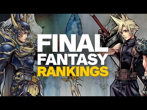 Top 12 Final Fantasy Games