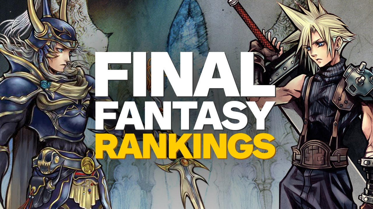 What Is The Best Final Fantasy Game Of All Time? | CBR