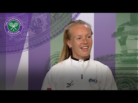 Kiki Bertens - 'I'm becoming a more stable player' | Wimbledon 2018