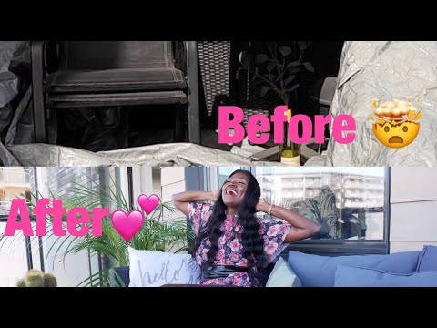 Extreme Balcony Makeover & Tour.( First time cleaning in 6 Months!)/ Rachel Otieno