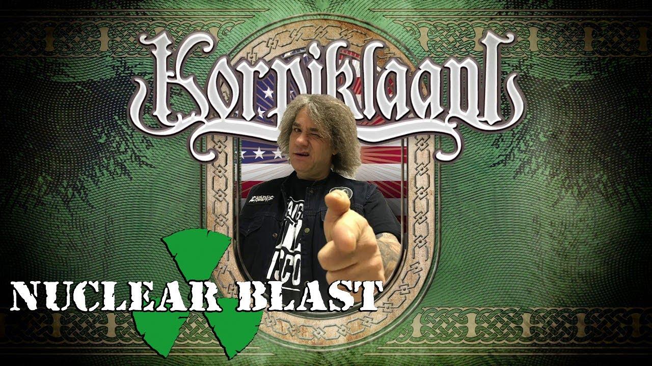 "KORPIKLAANI — 'Beer Kill Kill' [feat. Steve ""Zetro"" Souza] (OFFICIAL LYRIC VIDEO)"