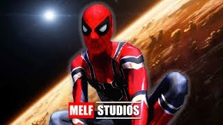 SPIDER-MAN TESTS NEW IRON SPIDER SUIT! Real Life Superhero Movie - MELF