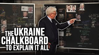 UKRAINE SCANDAL EXPLAINED: Chalkboard on DNC Collusion, Joe Biden, Soros, Trump & More
