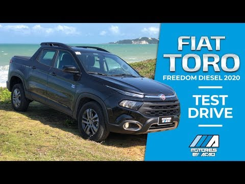 Fiat Toro 2020 Freedom 2.0 Diesel 4x4 | Test Drive | Review | motoreseacao