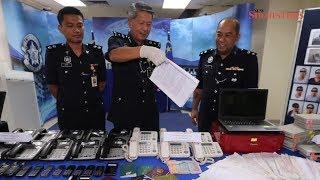 Melaka-based Macau scam syndicate busted, 25 foreigners held