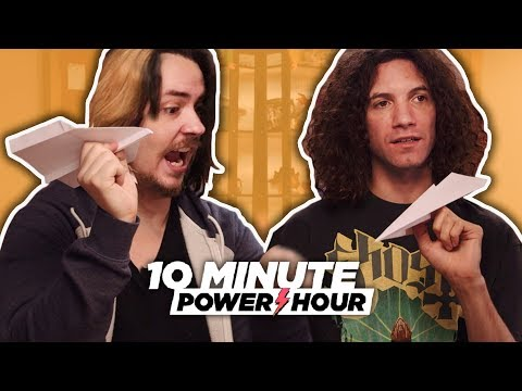 Piloting The Perfect Paper Airplane – 10 Minute Power Hour