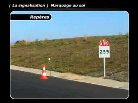 22 code de la route la signalisation marquage au sol youtube. Black Bedroom Furniture Sets. Home Design Ideas