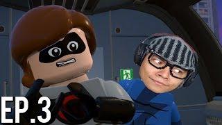 ZOEIRA NO TREM VOADOR - LEGO® The Incredibles Multiplayer ( Parte 3 )