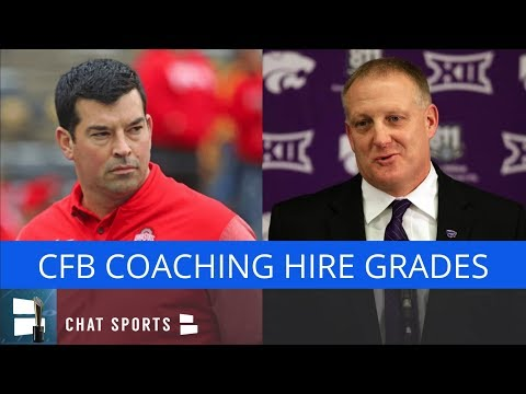 College Football: Grading Every CFB Head Coaching Hire In 2018 - Ryan Day, Les Miles And Mack Brown