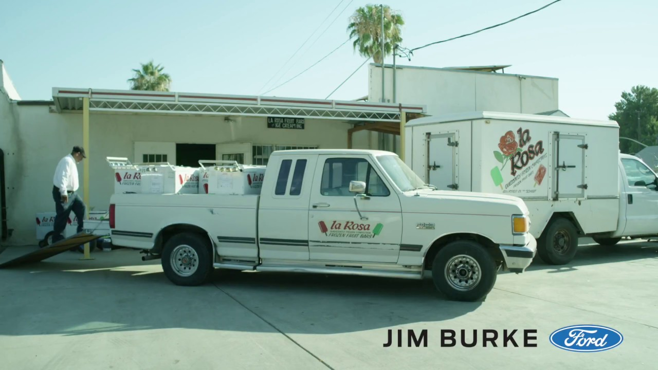Jim Burke Ford Presents La Rosa Fruit Bars Youtube