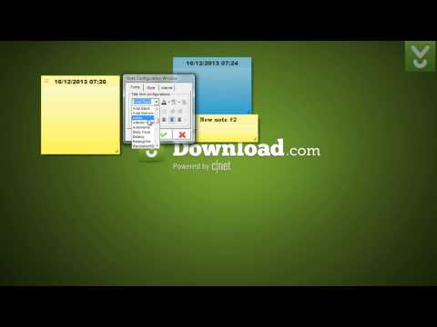 7 Sticky Notes - Create And Manage Sticky Notes On Your Desktop - Download Video Previews