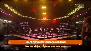[LIVE] T-ara & Supernova - Time to Love 2 (Sub Español + Karaoke)