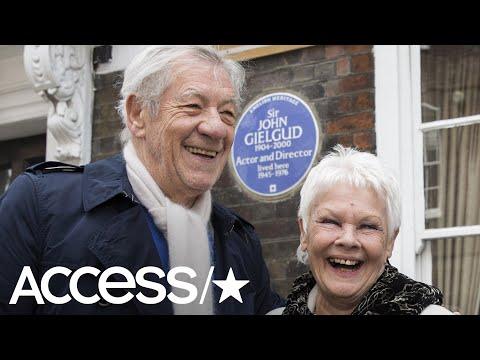 Ian McKellen Confesses That He & Judi Dench Once Sat On The Queen's Throne!