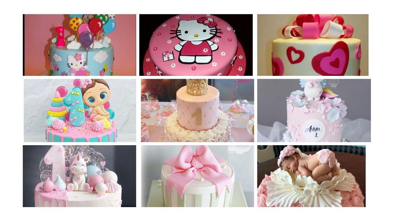 1yaş qız uşağı tortları 1 year old girl cakes